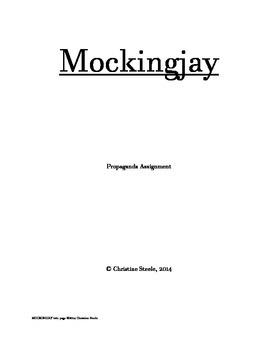 Mockingjay Propaganda Assignment