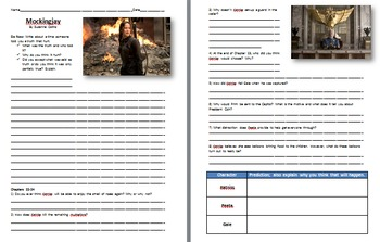Mockingjay Reading and Study Guide - Part Three of the Hunger Games