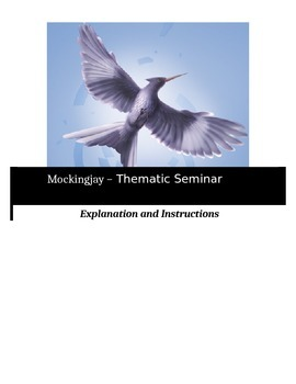 Socratic Seminar - Mockingjay - Common Core Aligned