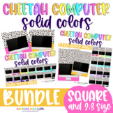 Mockup Cheetah Computer BUNDLE Solid Colors Perfect for Teacher Sellers