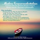 Modern Transcendentalism