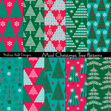 Mod Christmas Tree  Patterns