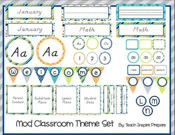 Mod Classroom Decorations