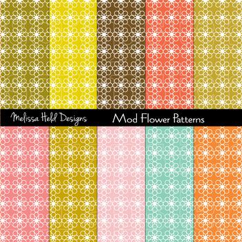 Mod Flower Patterns