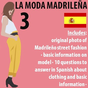 Spanish 1 - Moda Madrilena 3 (Madrid Fashion) - Original P