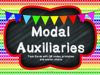 Modal Auxiliaries with QR code option Common Core