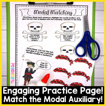 Modal Auxiliaries Week Long Lessons! Common Core Aligned L4.1c