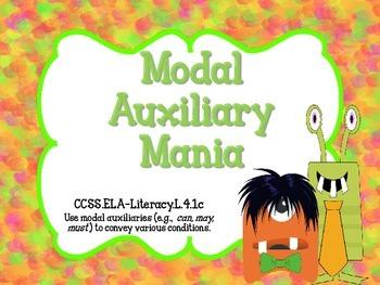 Modal Auxiliary Mania