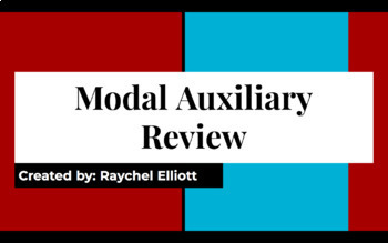 Modal Auxiliary Review