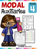 Modal Auxiliary Verbs L.4.1.C Worksheets Distance Learning