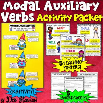 Modal Auxiliary Verbs Bundle