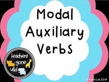 Modal Auxiliary Verbs  Mini Bundle