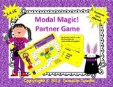 Modal Magic! Modal Auxilary Verbs Partner Game (Common Core Aligned)