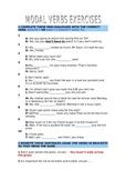 Modal Verbs Exercises