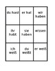 Modal and Auxiliary verbs in German Present tense Spoons game / Uno game