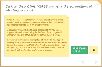 Modal verbs - 'must' 'need ' and 'have to'