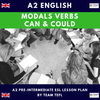 Modals - Can / Could A2 Pre-Intermediate Lesson Plan For ESL
