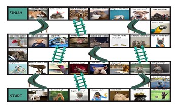 Modals of Ability Chutes and Ladders Board Game