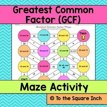 GCF Maze