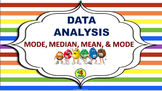 Mode, Median, Mean, Range, & Data Analysis Inter-active Po