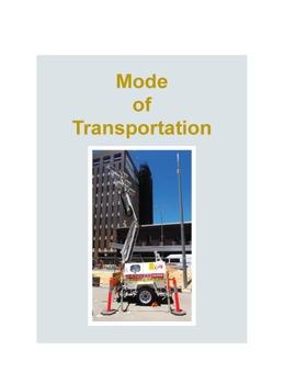 Mode Of Transportation