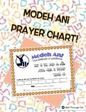 Modeh Ani Prayer Chart