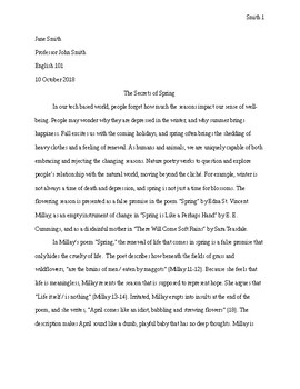 writing in mla format
