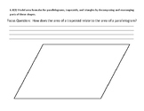 Model Area Formula: Trapezoid and Parallelogram