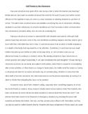 Model Argument Essay