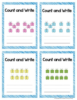 Model, Count, & Write 10 - GO MATH! Center Activities