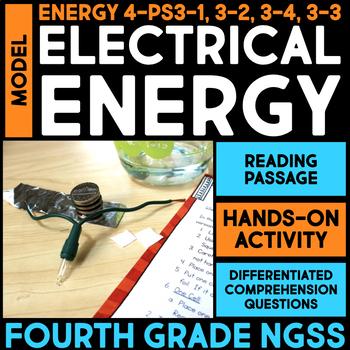 Model Electrical Energy in Batteries - Transfer of Energy
