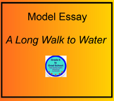 Model Essay for A Long Walk to Water Nya's Challenges