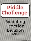 Model Fraction Division  - Carousel Activity (Divide Fractions using Models)