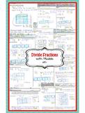 Model Fraction Division (Divide Fractions using Models) No