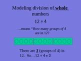 Model Fraction Division (New font)