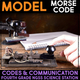 Model Morse Code - Communication through Codes & Technology