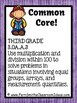 3rd Grade Go Math 3.5 Model Multiplication with Arrays Task Cards