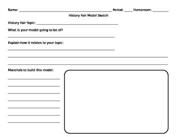 Model Planning Sheet