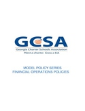 Model Policy Series: Financial Operations Policies
