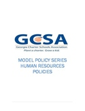 Model Policy Series: Human Resources Policies