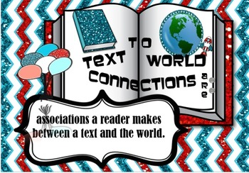Model SchemaText to World Connections_Beginning of School_Reading Strategies