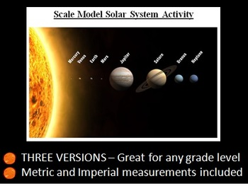 Model Solar System Activity - Collaborative, Inquiry-Based Assessment Item