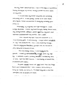 Best Stories Produced for Writing Test: Grade 5