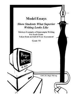 Best Stories and Essays Produced for Writing Test: Grades 6 & 7-8
