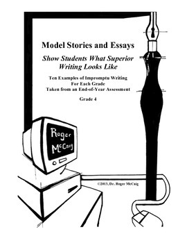 Best Stories Produced for Writing Test: Grades 1-5 Bundled