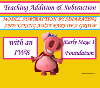 Model Subtraction by separating and taking away part of a group - Foundation