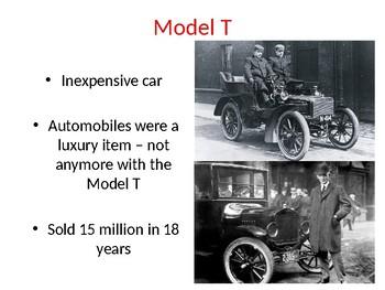 Model T Presentation