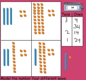 Model Two-Digit Numbers