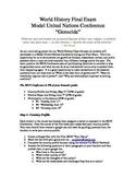 Model United Nations Project Description