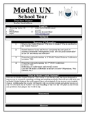 Model United Nations Syllabus Shell